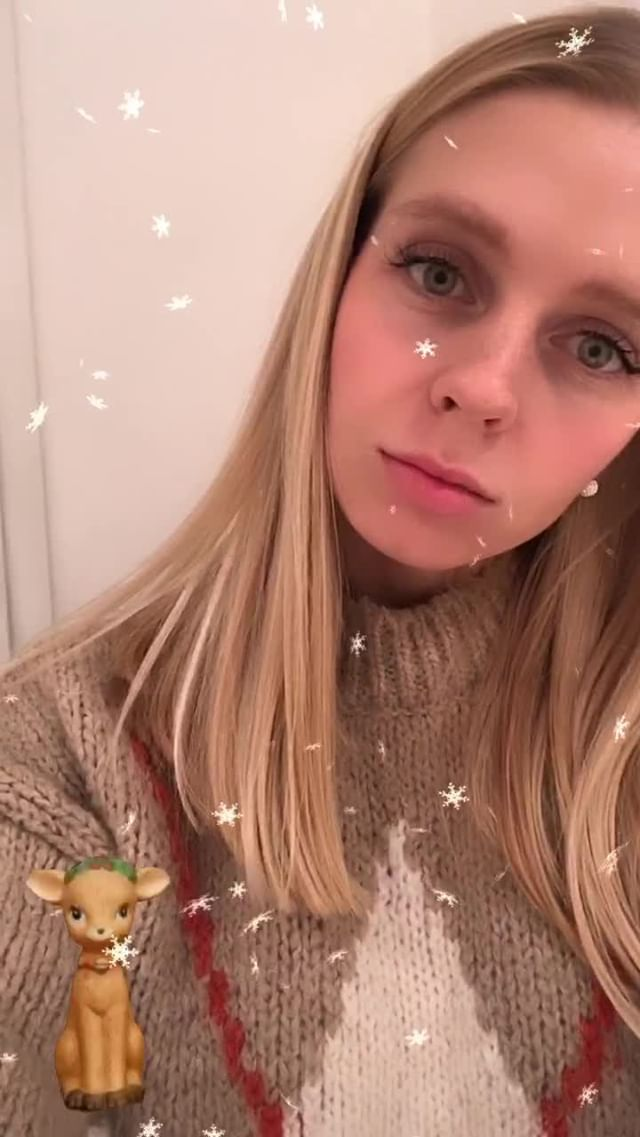Instagram filter Snowflakes