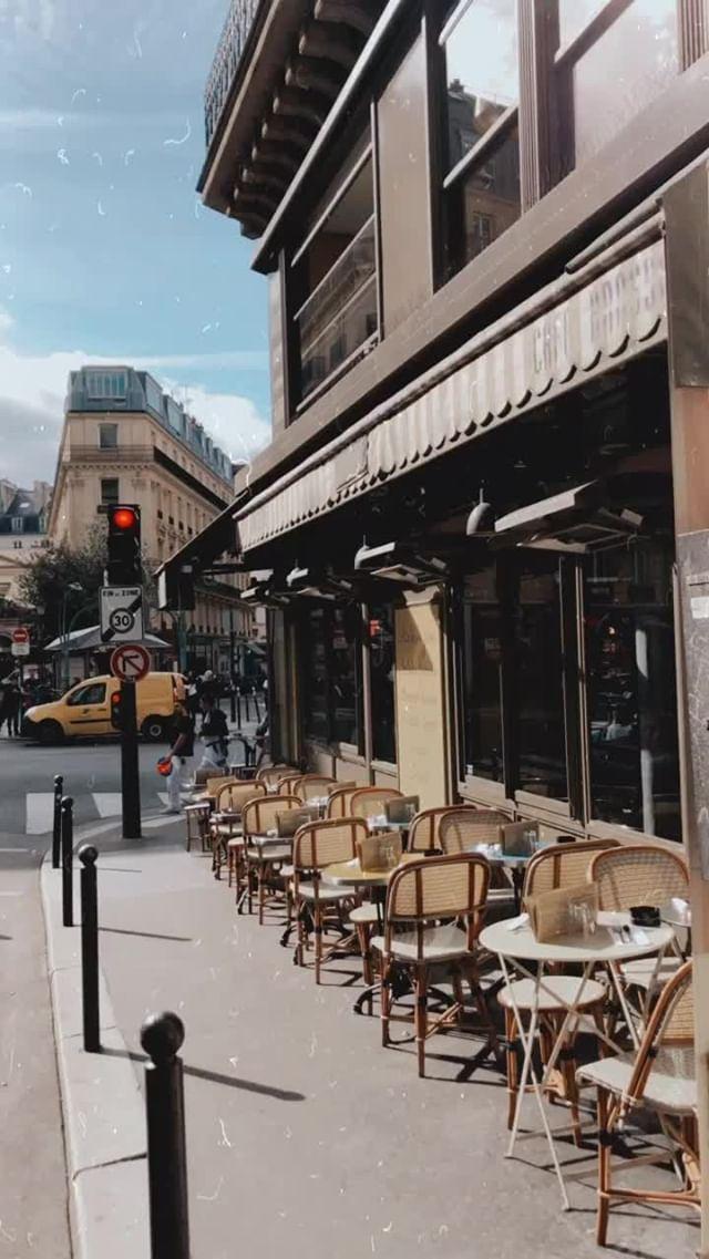 Instagram filter Vintage Paris