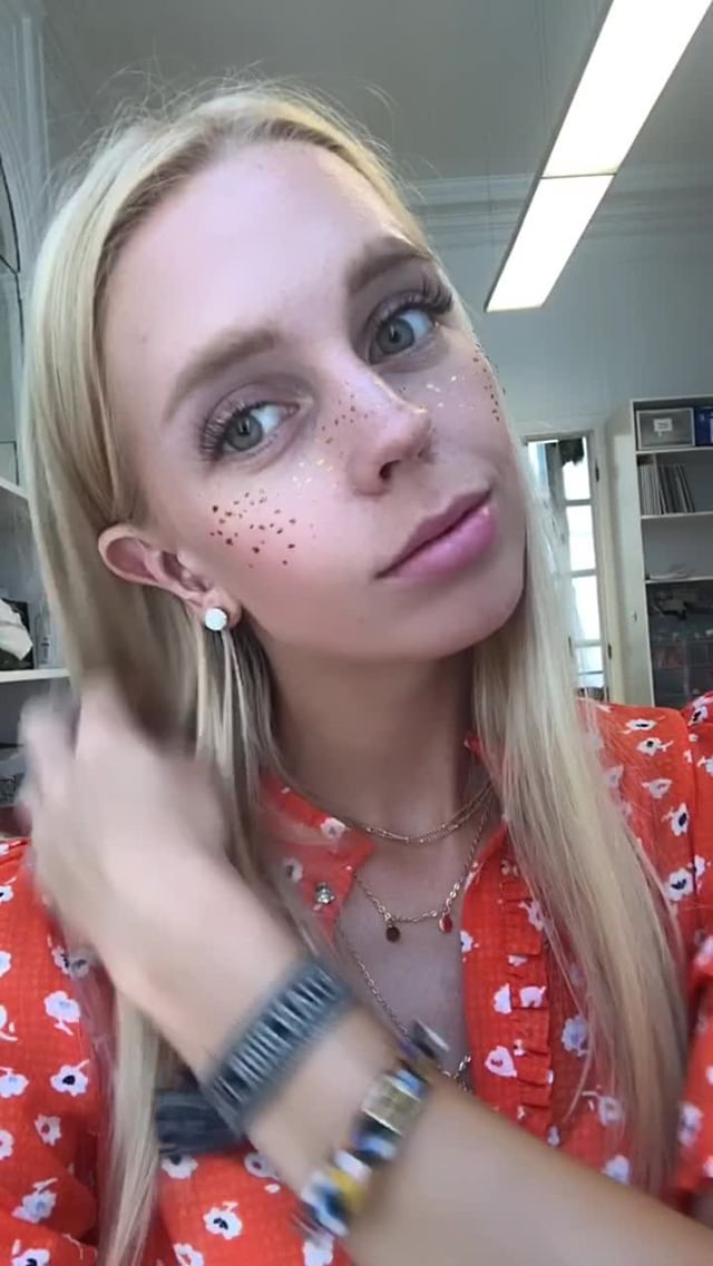 Instagram filter Beauty freckles
