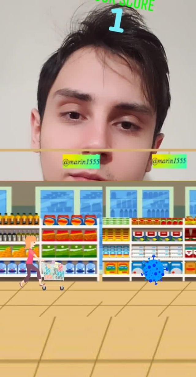 Instagram filter Fast shopping game