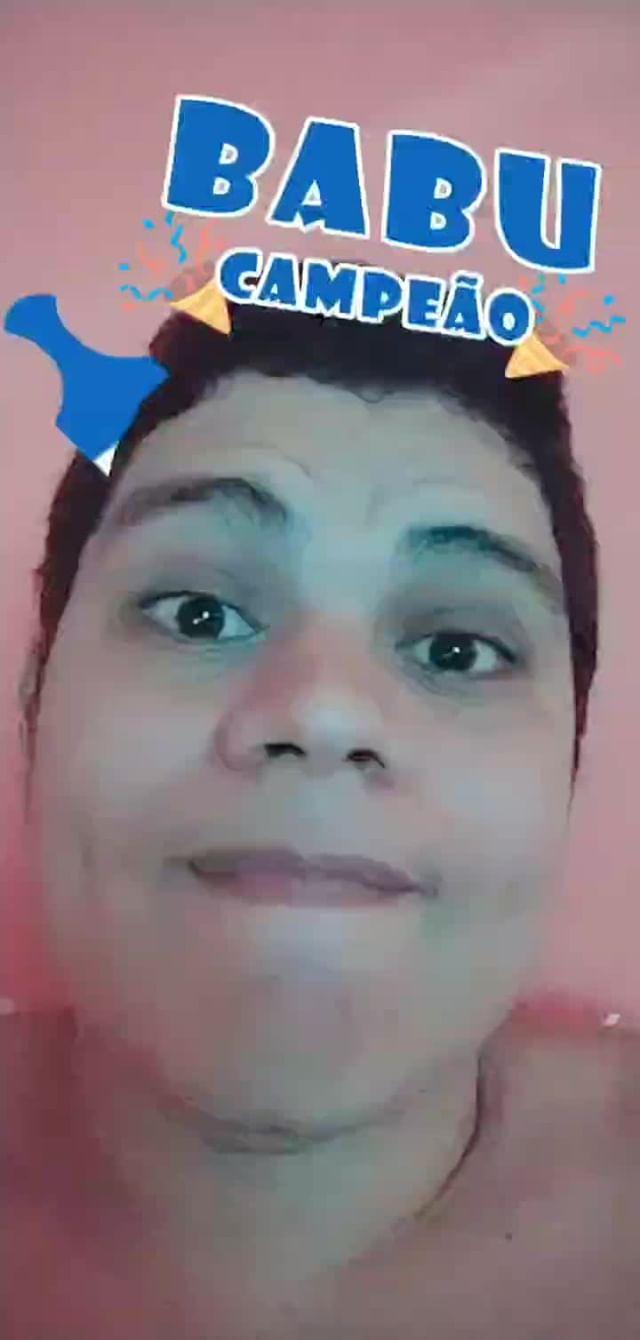 Instagram filter Babu Campeão