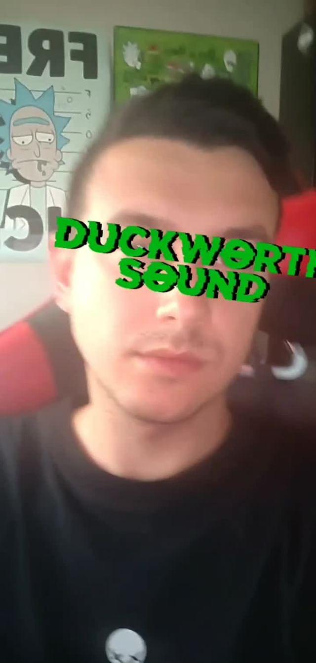 Instagram filter duck