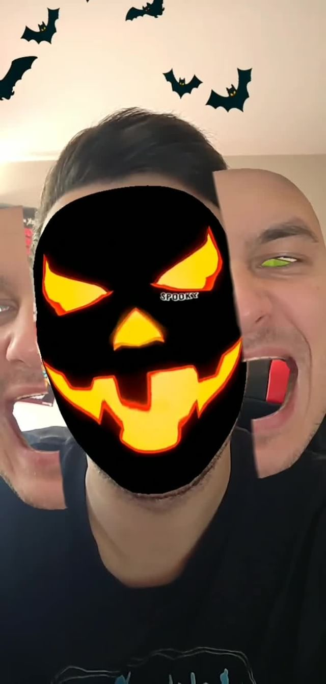 Instagram filter spooky