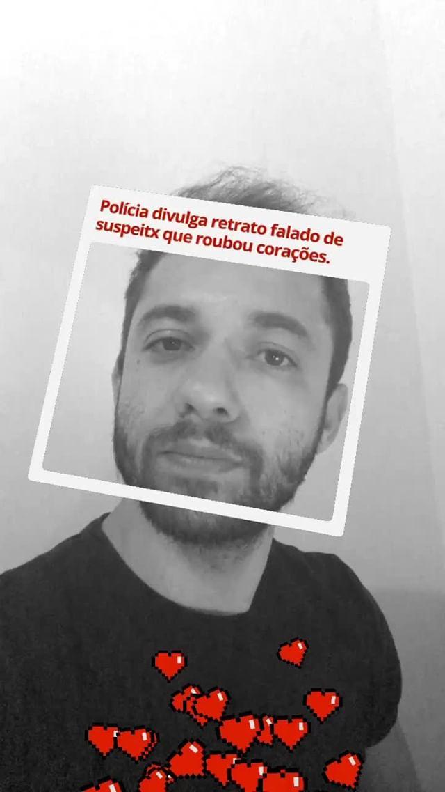 Instagram filter Retrato Falado