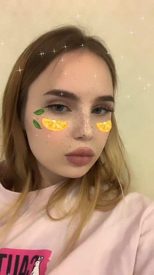 Instagram filter orange