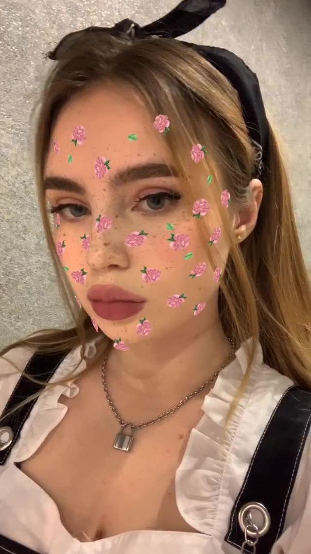 Instagram filter roses