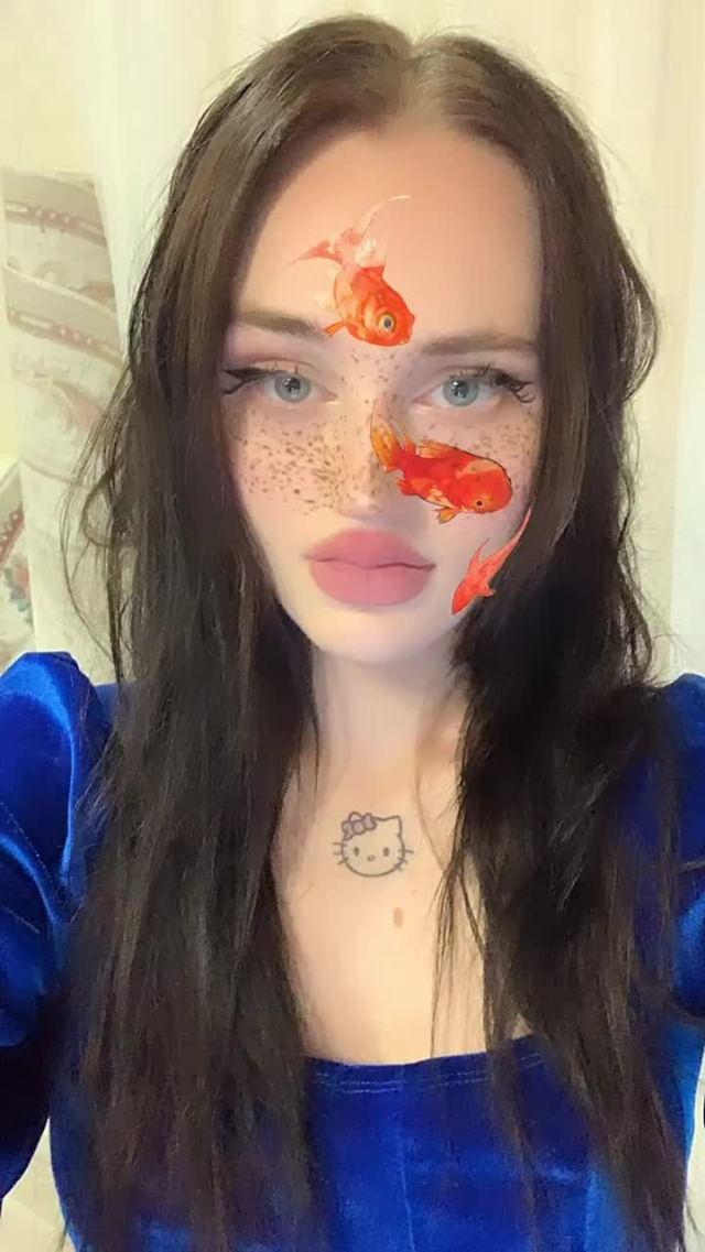 Instagram filter  fish