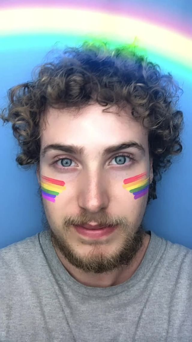 Instagram filter Orgulho LGBT