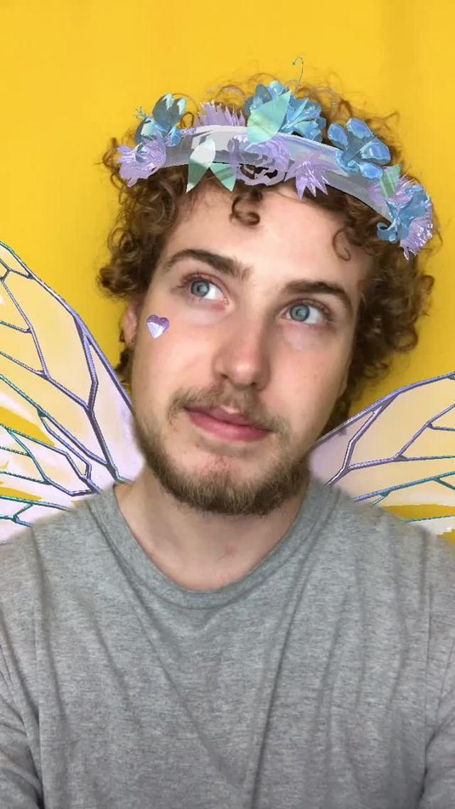 Instagram filter Enchanted Fairy