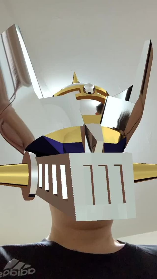 chungcy Instagram filter Mazinger