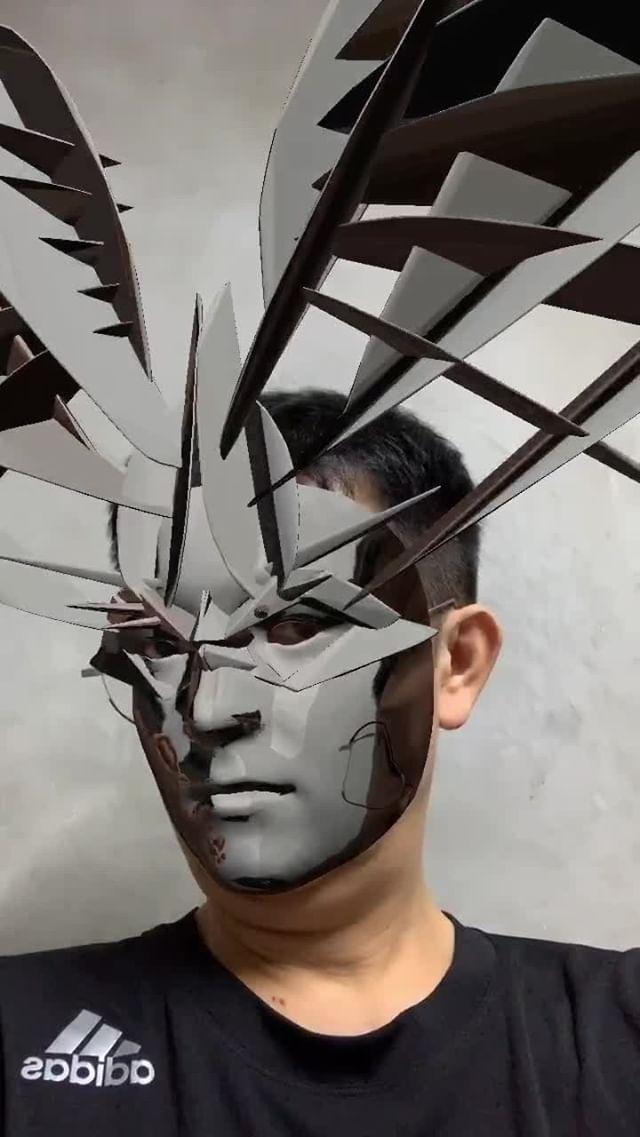 Instagram filter Silver Mask 2