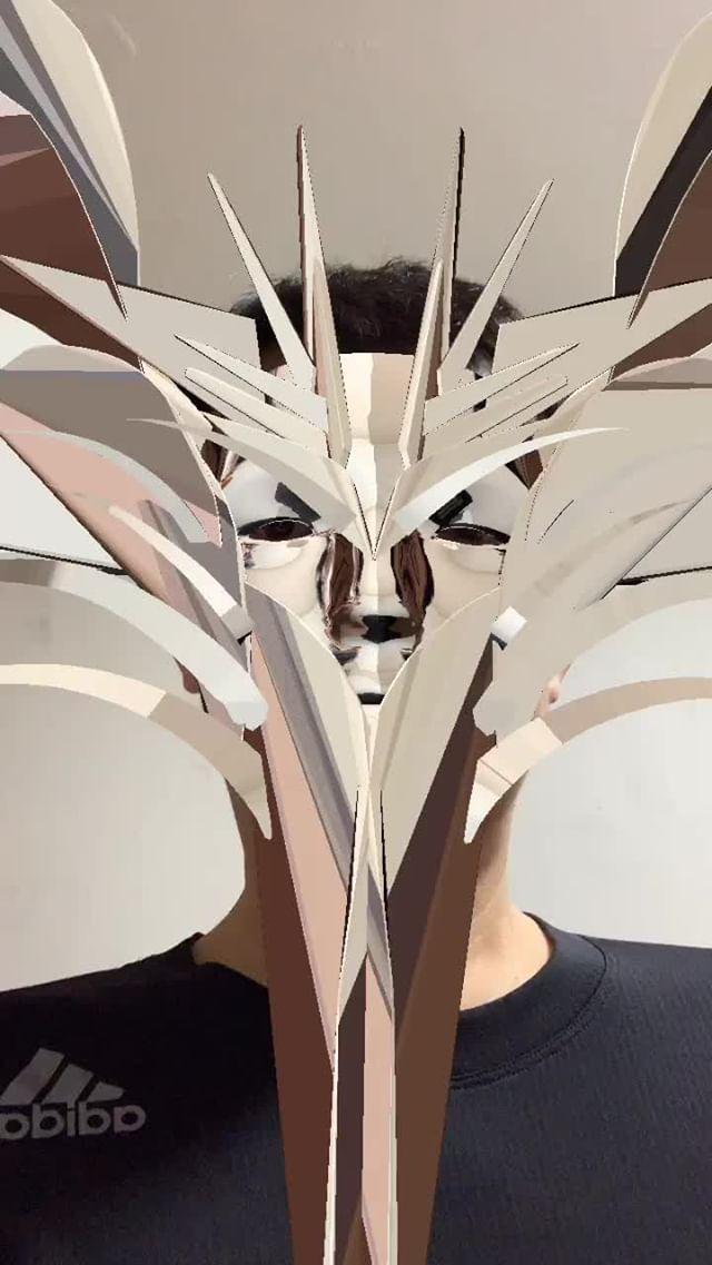 Instagram filter Silver Mask