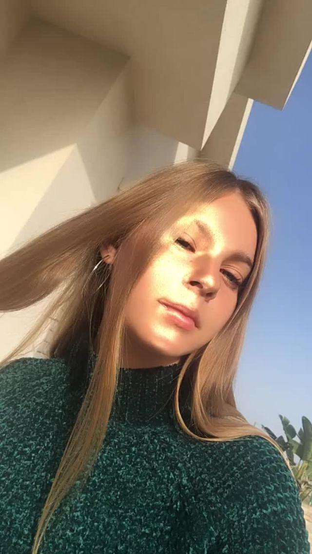 Instagram filter Golden face