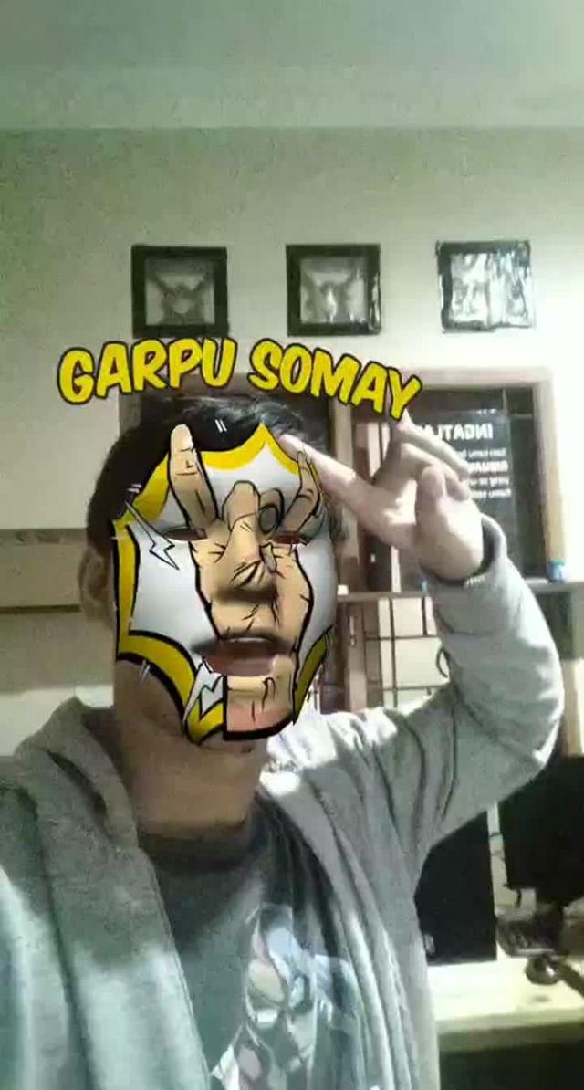 Instagram filter GARPU SOMAY FACE