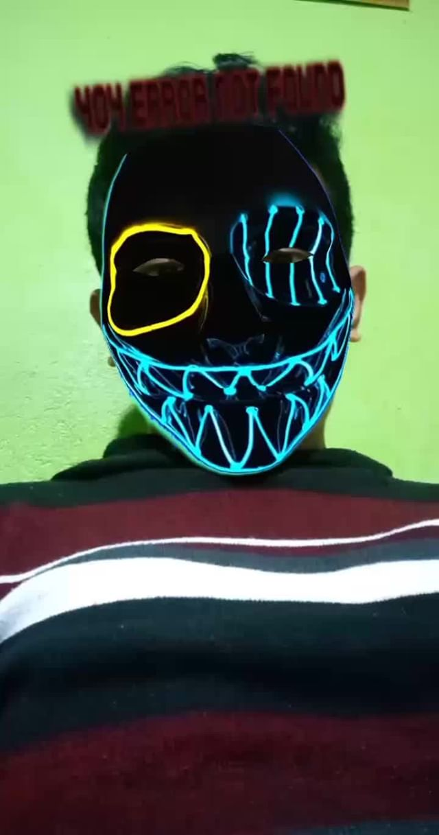 Instagram filter Neon Mask