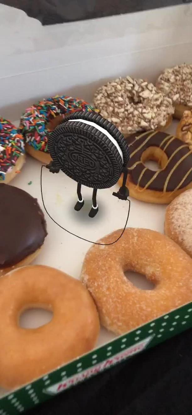 Instagram filter Cookie