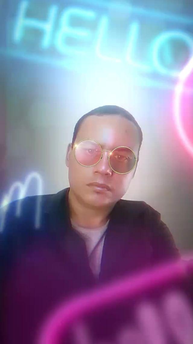 Instagram filter Glasses