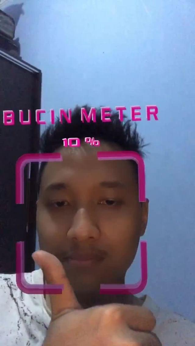 Instagram filter BUCIN METER