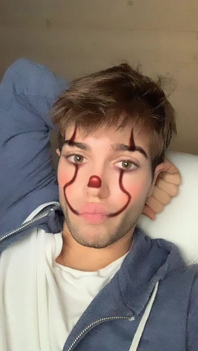 Instagram filter ClownMakeup