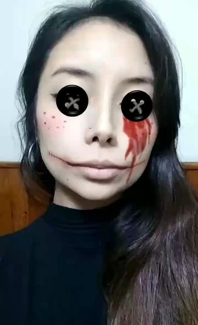 Instagram filter Coraline