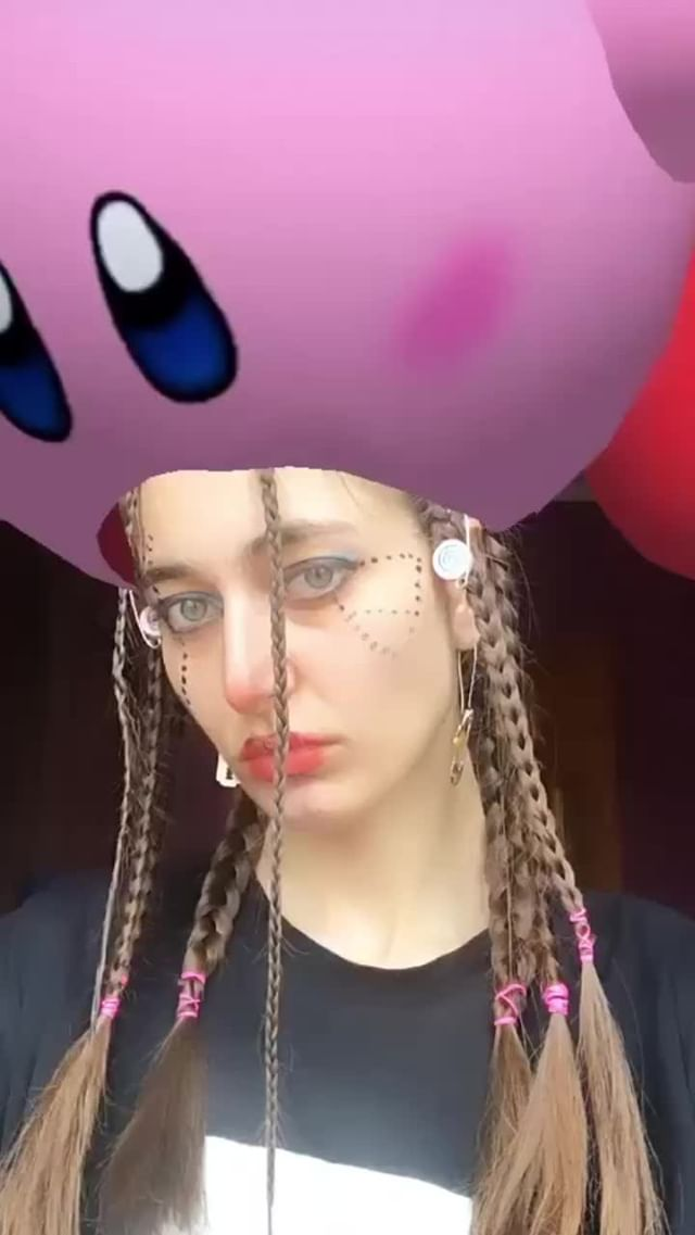 Instagram filter Hungry Kirby