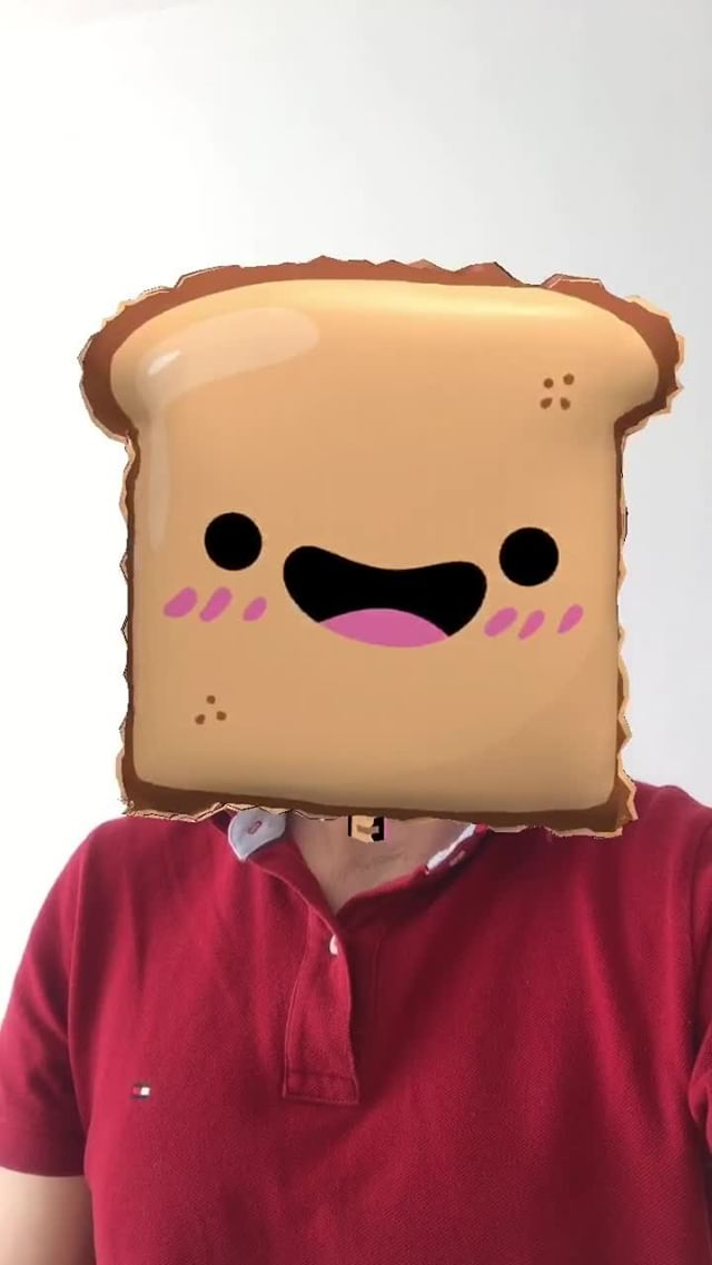 Instagram filter toast