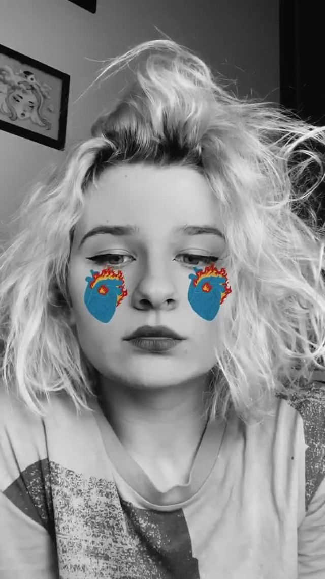 Instagram filter heart
