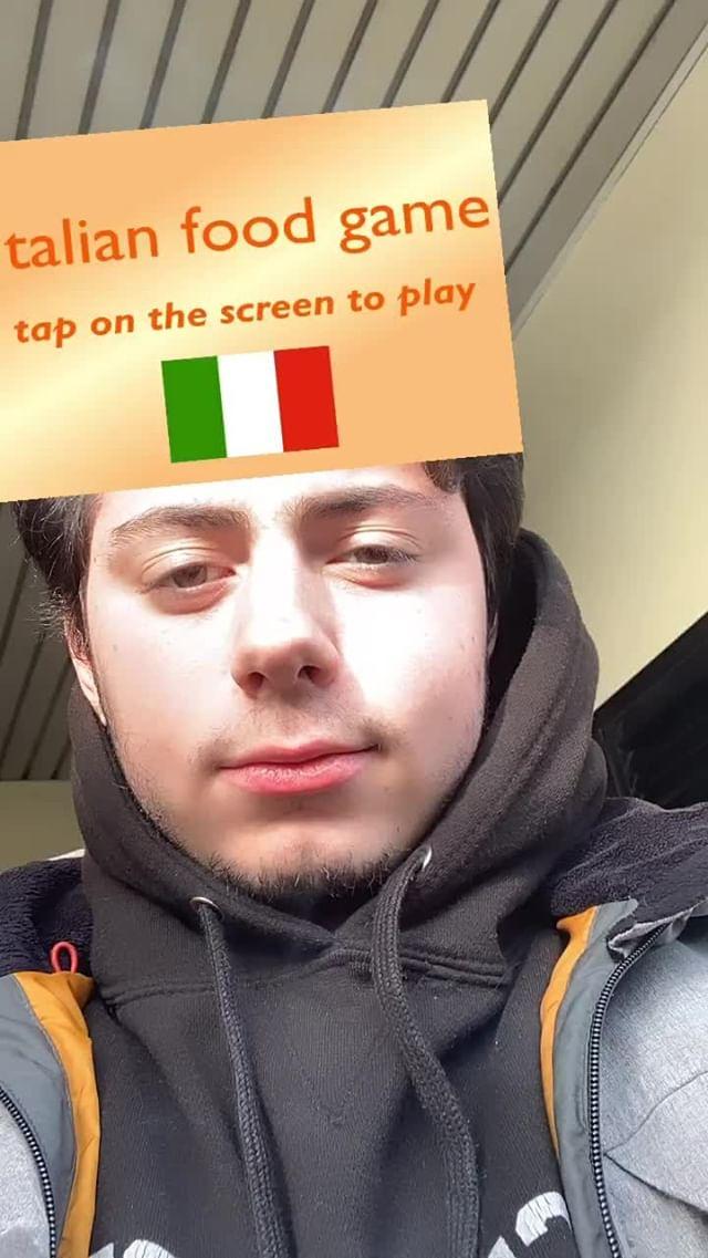 Instagram filter Which pasta are u?