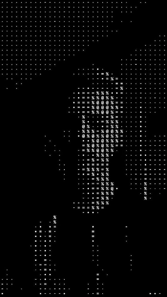 Instagram filter ASCII