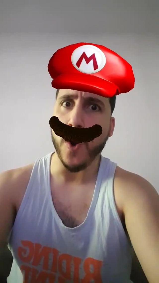 Instagram filter Super Mario