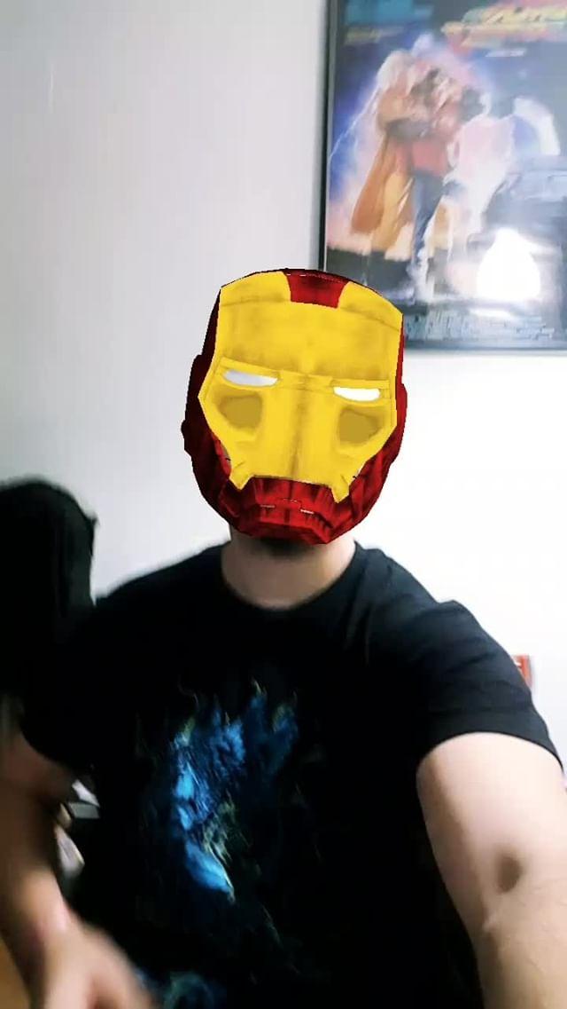 hermoti Instagram filter Iron Man