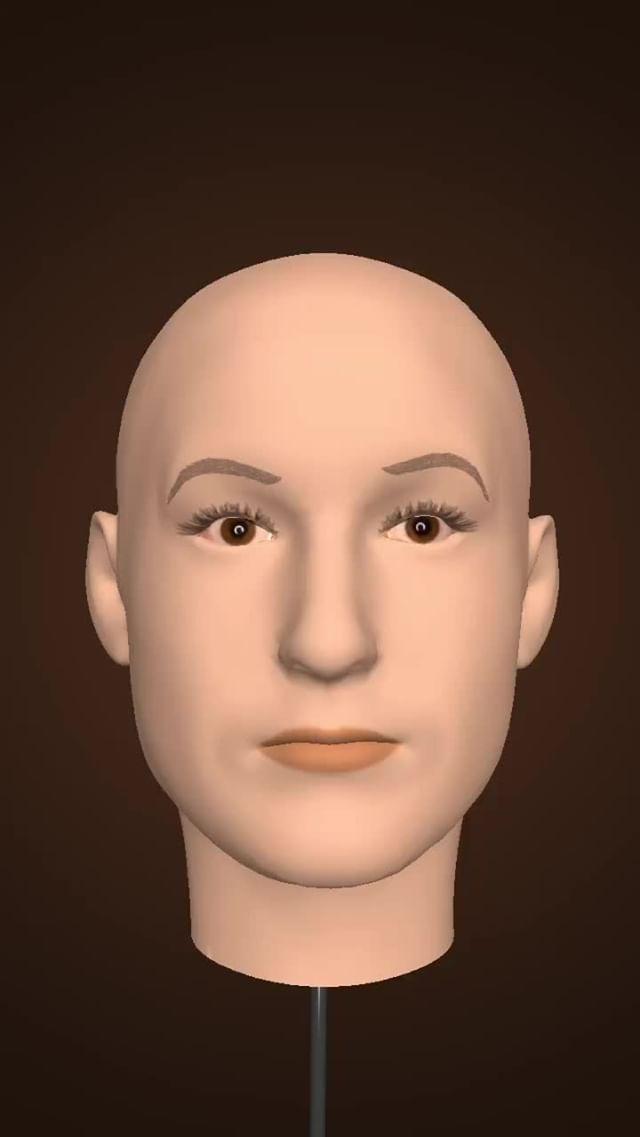 Instagram filter Manikin's Head