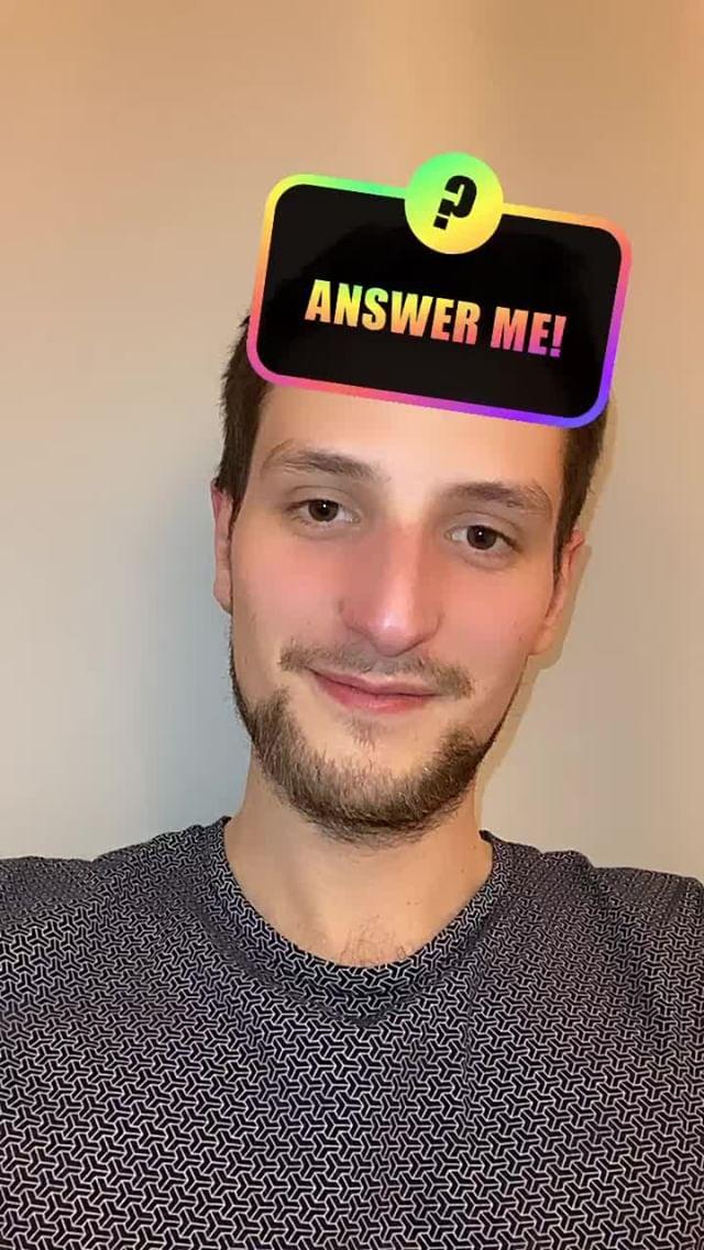 Instagram filter Answer Me!