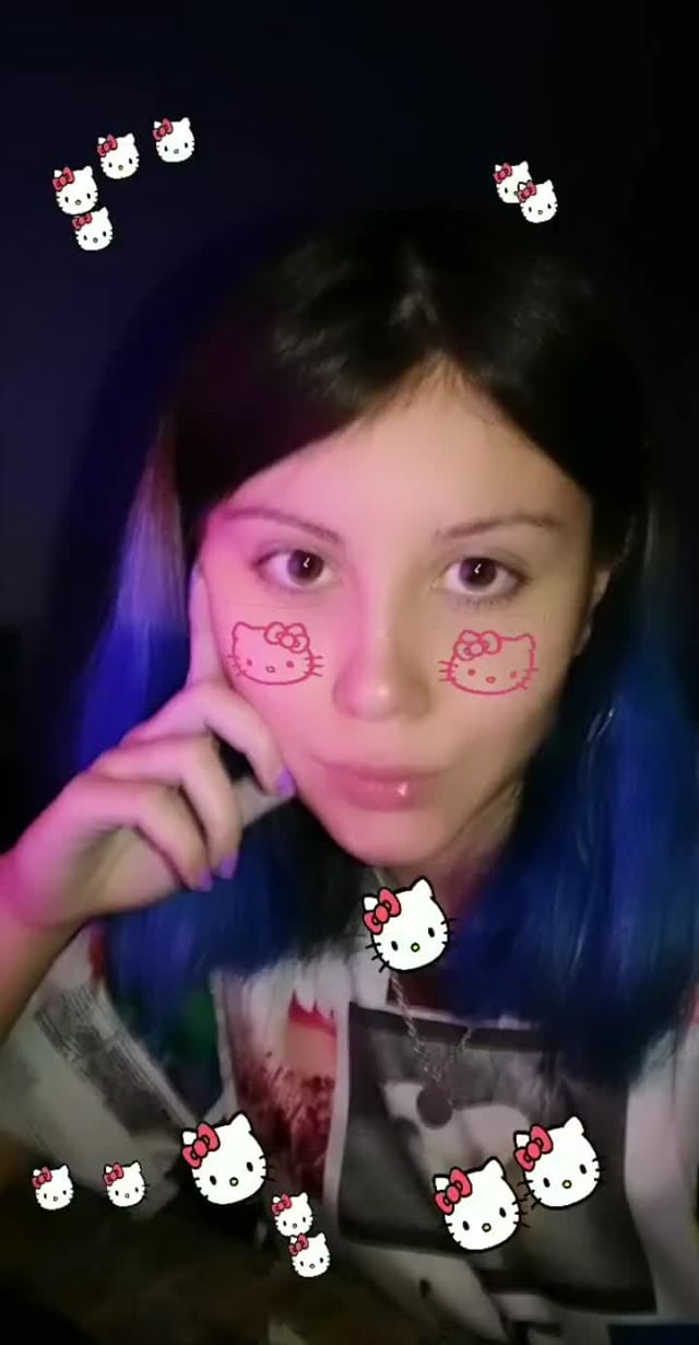 Instagram filter  � hello kitty �