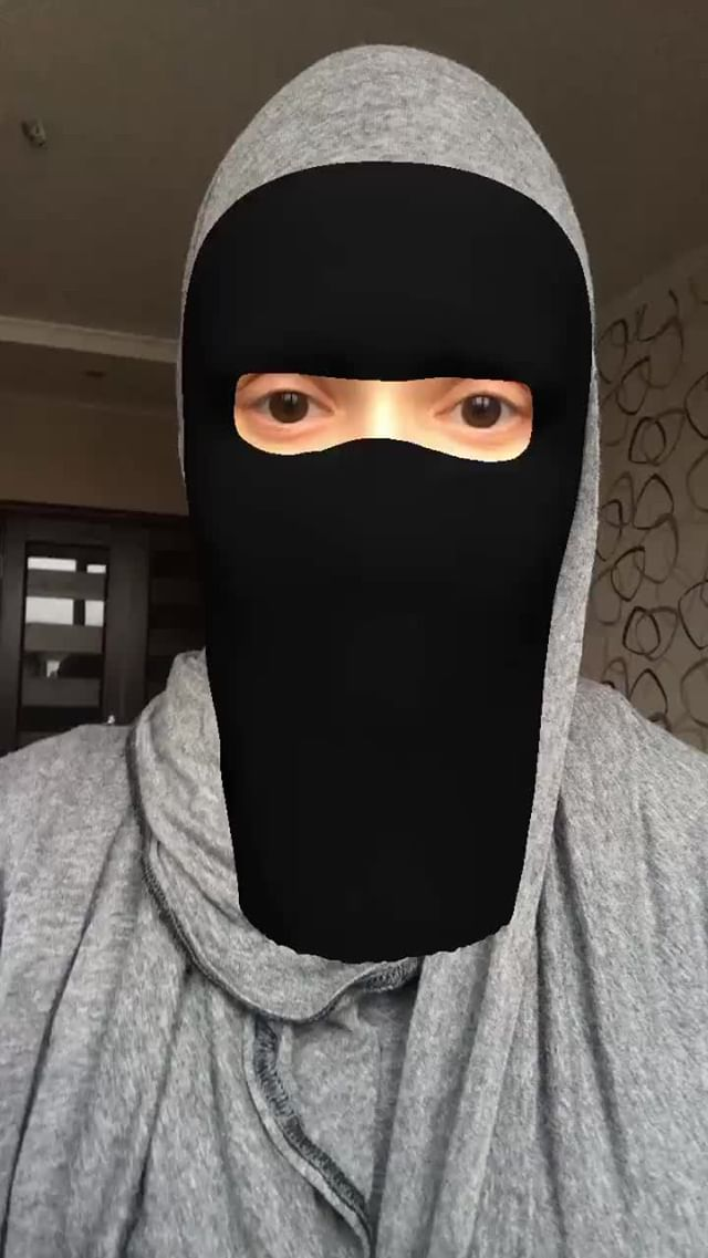 Instagram filter Niqab 2
