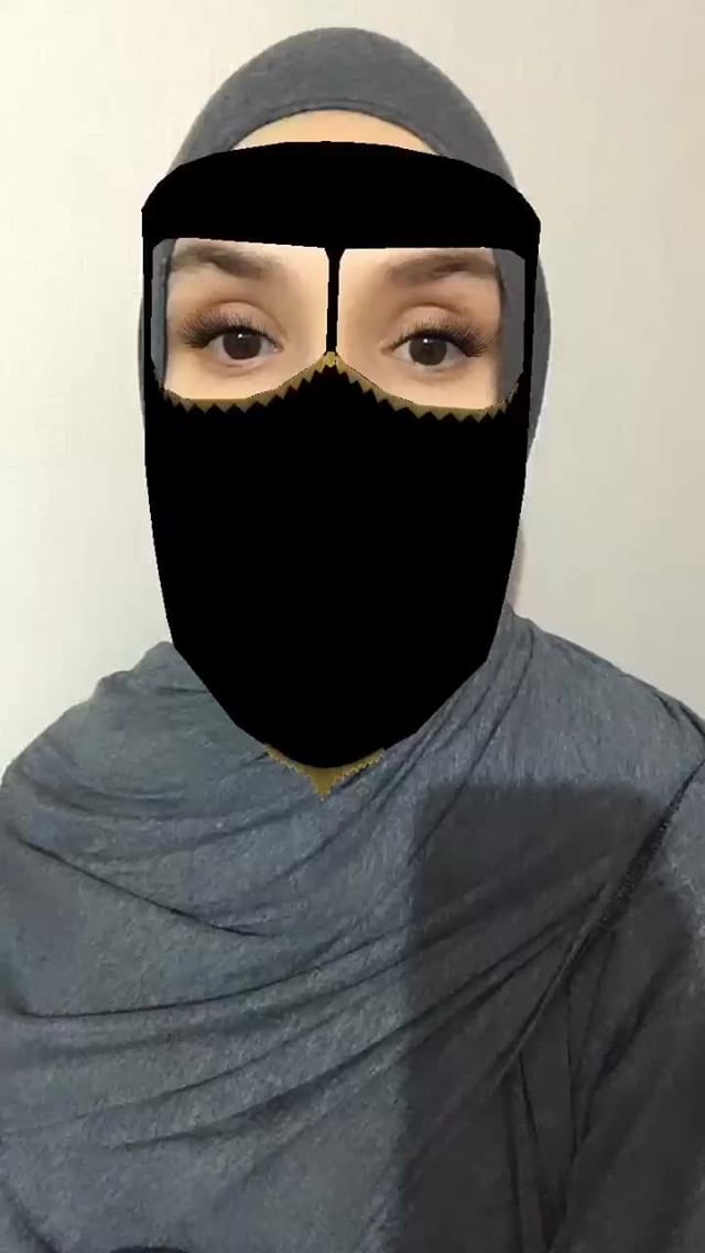 Instagram filter Niqab3