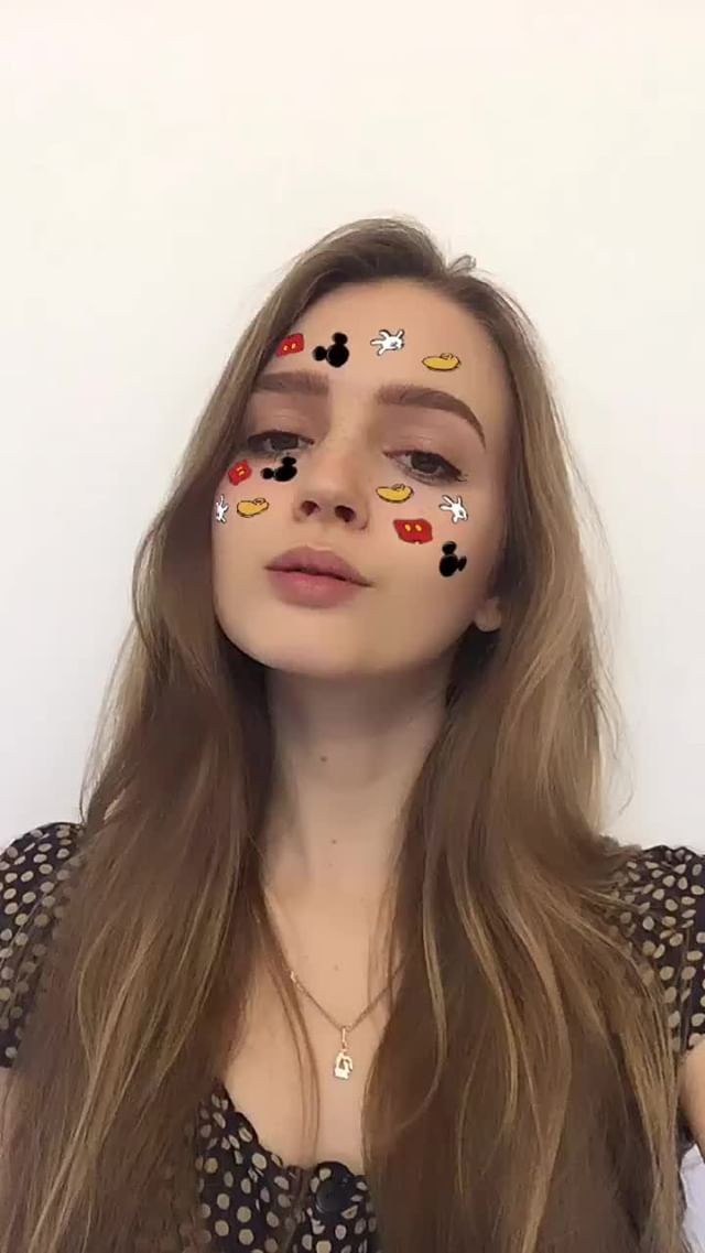 Instagram filter mickey