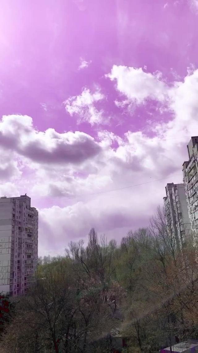 Instagram filter Pink Sky