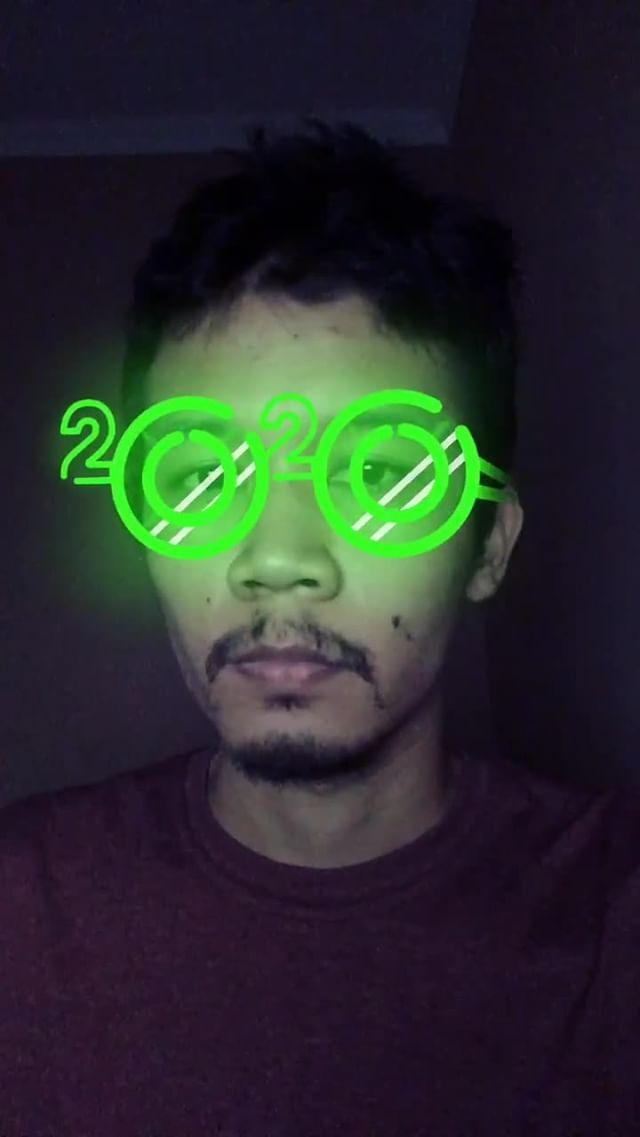 Instagram filter Neon 2020