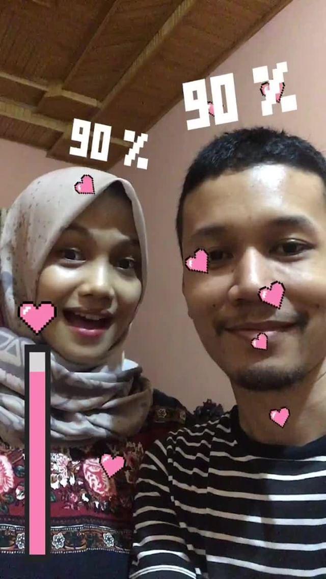 Instagram filter Lovemeter