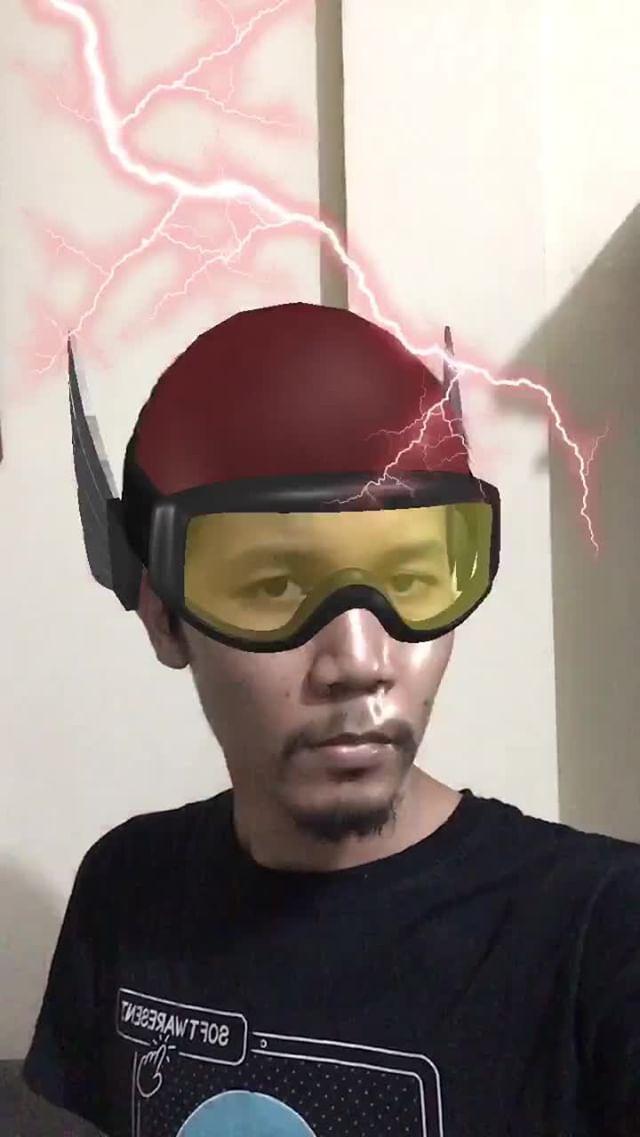 Instagram filter Putra Petir
