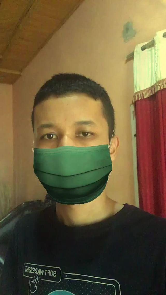 Instagram filter Anti Smoke Mask