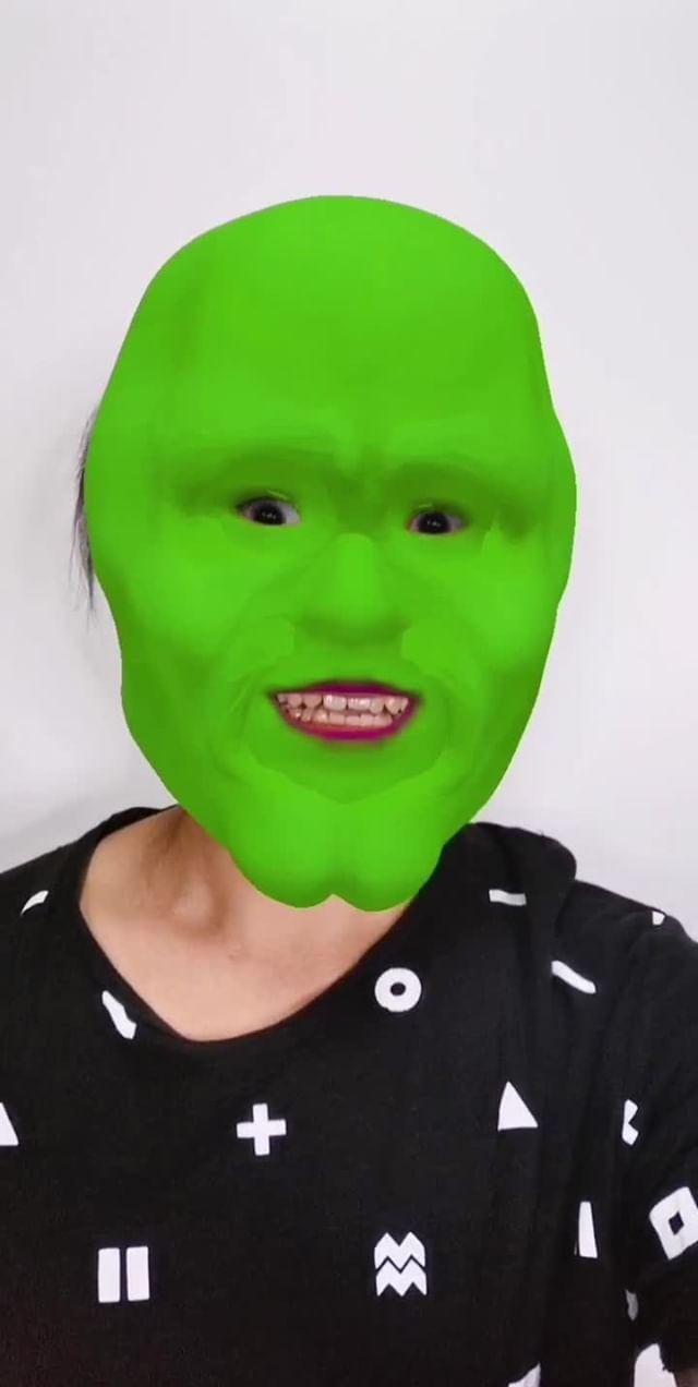 Instagram filter The Mask