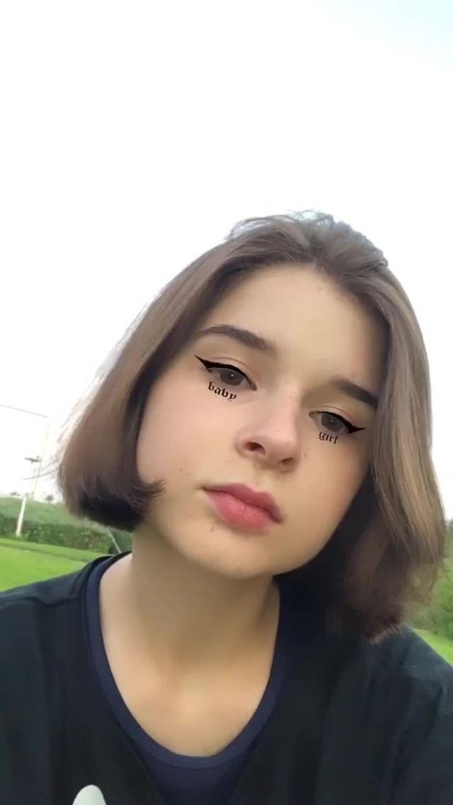 Instagram filter girl