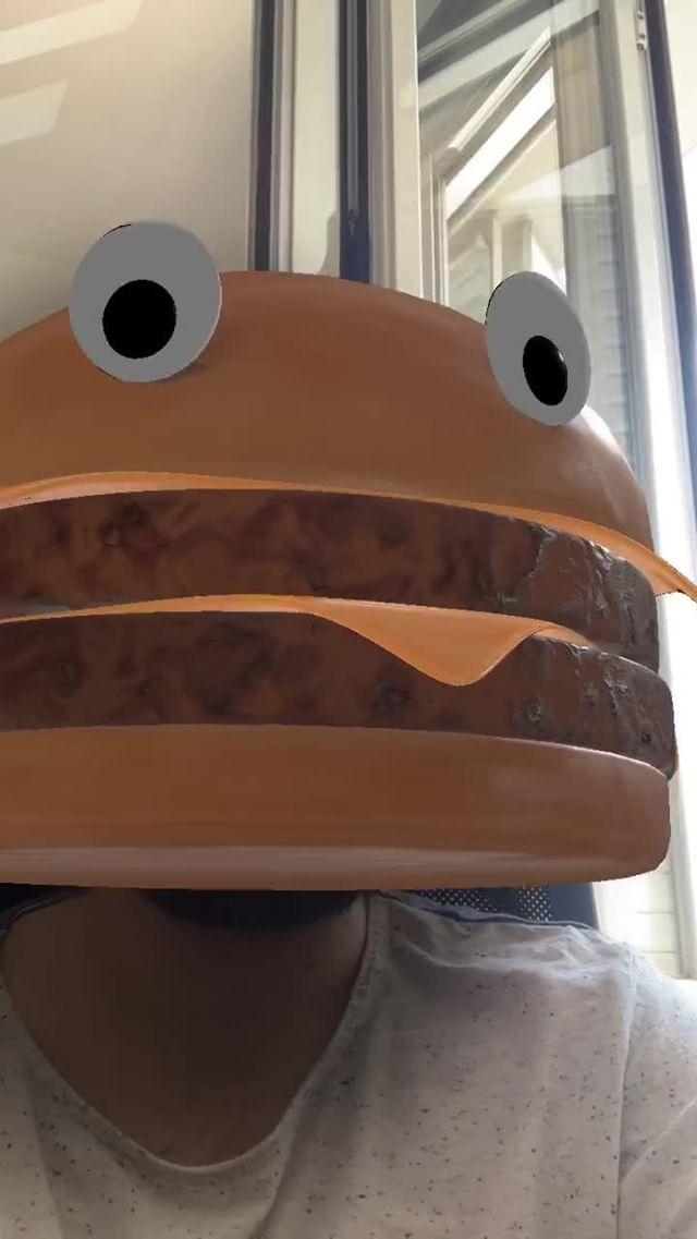 cuestaluis Instagram filter Burger Face