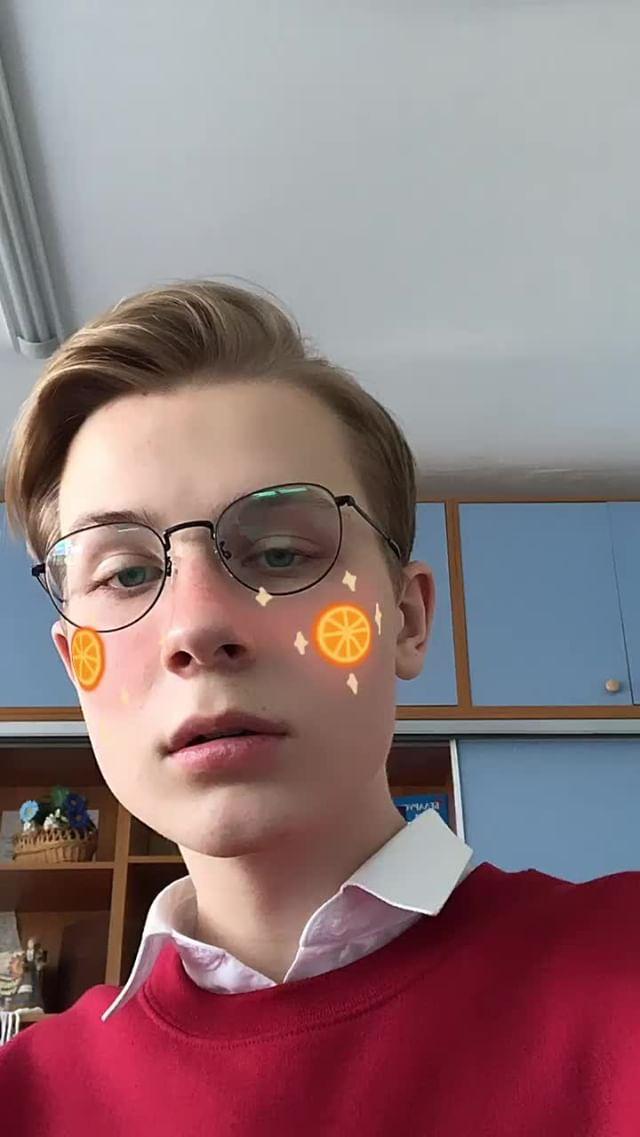 Instagram filter oranges
