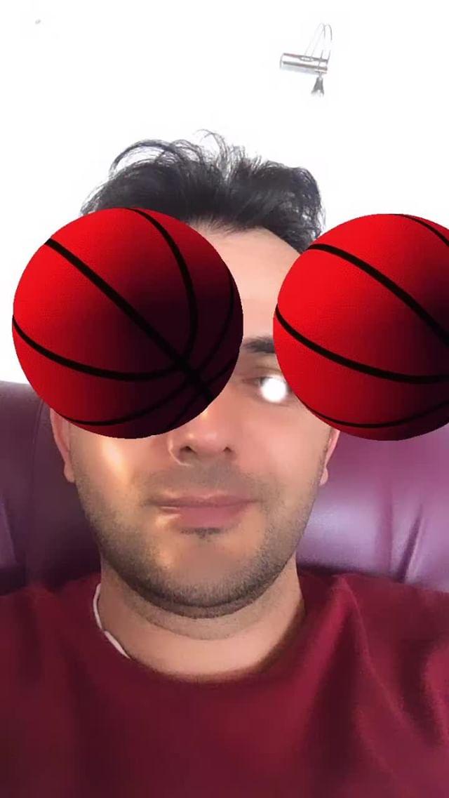 burakartist Instagram filter EYE'S BASKETBALL