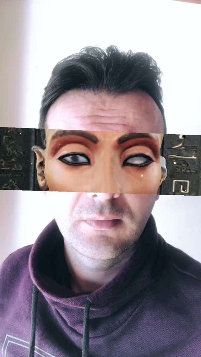 Instagram filter Nefertiti Inside Us