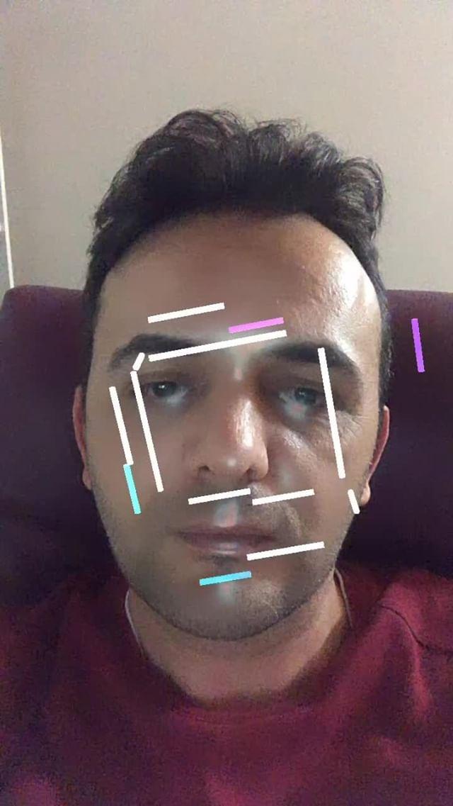 burakartist Instagram filter HOLOGRAM