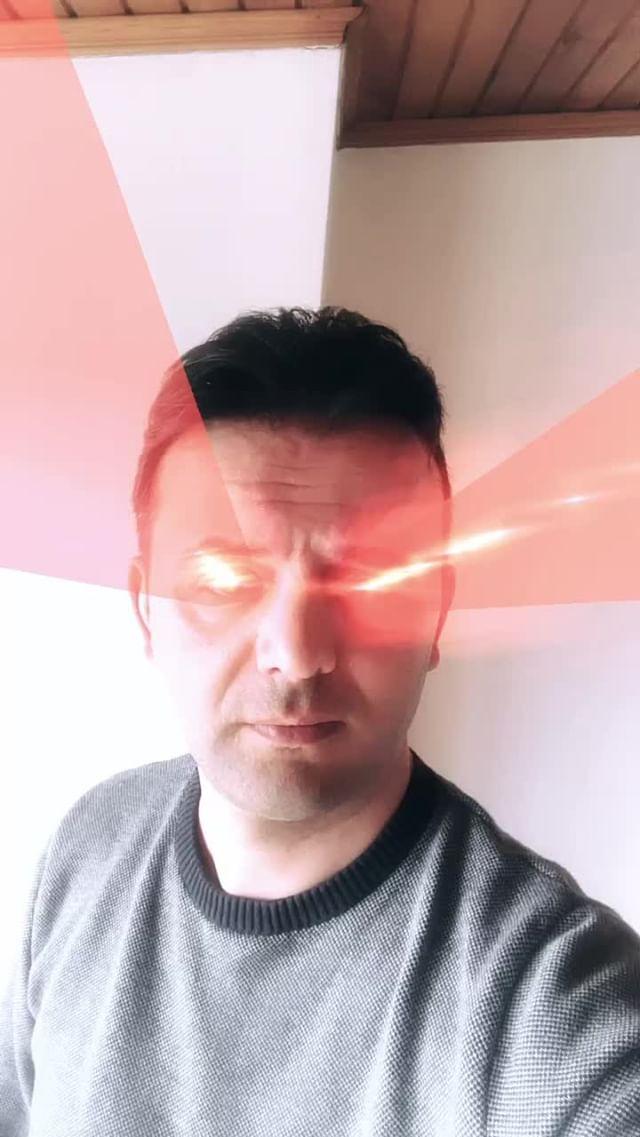 Instagram filter Eye Laser